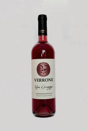 Per Mamma Rai l'Irpinia dei vini non esiste  St_foto_bottiglia_Vigna_Girapoggio_-_rosato_(fronte)